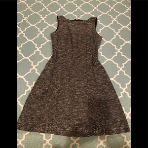 The Limited tweed black and cream dress